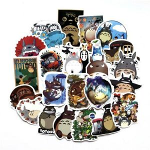 50pcs My Neighbor Totoro Cartoon Stickers Stationery Skateboard Laptop Decal