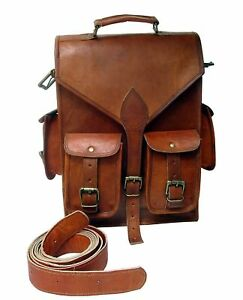 Real Genuine Leather Backpack Women Bag Fashion retro Style Vintage Rucksack Bag