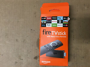 AMAZON FIRE TV STICK STREAMING MEDIA PLAYER WITH ALEXA VOICE REMOTE - GEN2