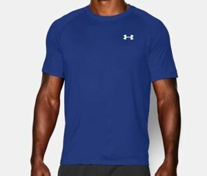 New Under Armour Tech Short Sleeve T-Shirt Blue 1228539 Men's  3XLT  Tall
