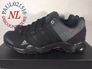 Adidas Men's AX2 Outdoor Hiking Shoes ~ Black ~ Various Sizes Condition ! !