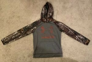 Under Armour Storm Youth Boys RealTree Camo  Hoodie