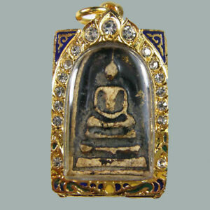 phra somdej wat rakang LP TOH Pim Yai antique old Thai magic amulet buddha