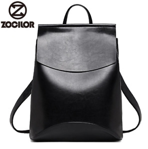 Fashion Women Backpack High Quality Youth Leather Backpacks for Teenage Girls Fe