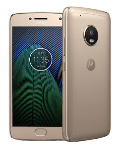 Motorola MOTO G5 Plus 32GB Fine Gold Factory Unlock 01111NARTL READY to USE !!!!