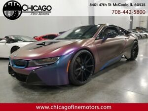 2015 i8 TERA WORLD 2015 BMW i8 TERA WORLD Coupe! ONE OF A KIND! Color Changing Wrap! Factory Warran