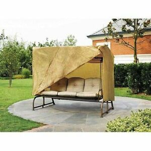 All Weather Outdoor Patio Canopy for 3 Seater Swings 87 x 64 x 66quot;