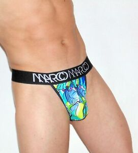 Sexy Mens Thongs Marco Marco Underwear Tropical Mens Tangas Para Hombres  2