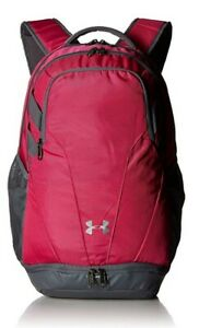 Under Armour Team Hustle 3.0 Backpack Tropic PinkSilver One Size Fits All