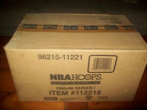 1995-96 Skybox HOOPS Basketball Series 1 Factory Sealed Case...2036ct..RARE!!