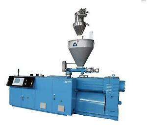 Toolots SJZ65132 PVC Conical Twin Screw Extruder