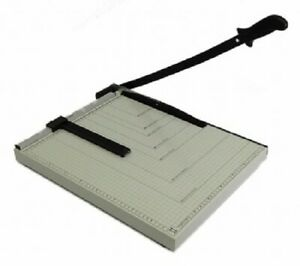 PAPER CUTTER 18 x 15 inch METAL BASE TRIMMER Scrap booking Guillotine Blade New $29.99