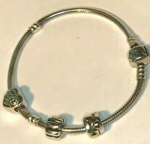 Authentic Pandora Sterling Silver Iconic 7.25