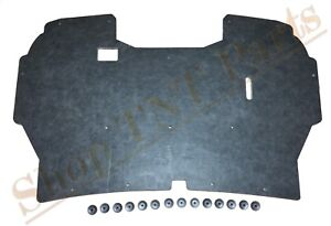 1992 1996 Ford F150 Truck Under Hood Insulation Pad 1992 1997 F250 F250 w Clips $49.99