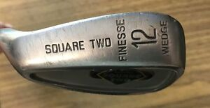 Left-Handed Square Two 12 Finesse Wedge PCX II Power Cavity Steel Shaft