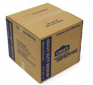 Cardboard Moving Box 18 x 16 x 18 Inch Medium Heavy Duty Move and Store Clothing