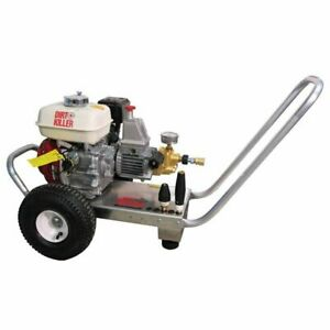 Dirt Killer Professional 2600 PSI (Gas-Cold Water) Pressure Washer w Honda E...