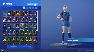 POISED PLAYMAKER +3 SOCCER SKINS MAX OMEGA S4-6 max tier FORTNITE RARE SKINS