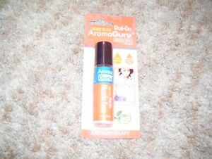 Ready to use roll-on aroma guru-muscle ease-aromatherapy