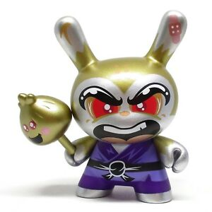 Kidrobot DCON DESIGNER CON Dunny Series SHAO RU THE KUNG FU ??? GOLD CHASE