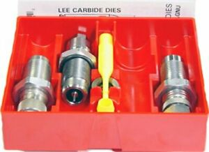 .38 Special Carbide 3 Die Set w Universal Shell Holder & Powder Dipper by Lee