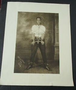 Reporoduction of 1924 JAMES VAN DER ZEE Photo Man In Chains