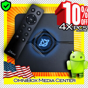 Omni 9X Core Mini PC Streaming Media Hub Device Android TV Box - 4K HD  WiFi