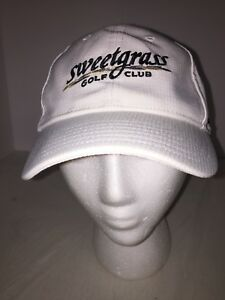Women's Under Armour X Sweetgrass Golf Club One Size Strap Back White Hat Cap