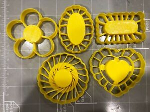 Thumbprint Shaped Cookie Cutters (Set Of 5)