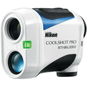New 2019 Nikon Coolshot Pro Stabilized Golf Laser Rangefinder W Slope ID 16555