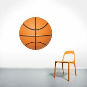 Basketball Printed Wall Decal Sports Athletics Kids Room Man Cave Decals Mural