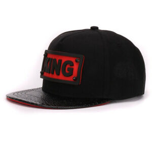 KING Gorras Planas Sports Hats Women Snapback Men Casual Fitted Hip Hop