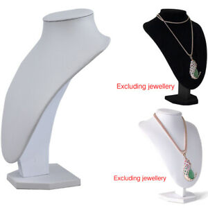 Shop Mannequin Bust Jewelry Necklace Pendant Earring Display Stand Holder Luxury