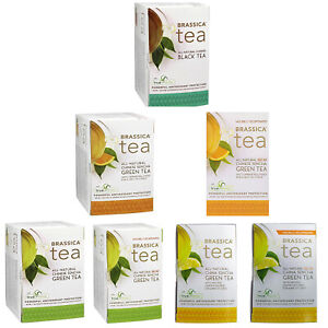 Brassica Tea with truebroc SGS multiple flavors