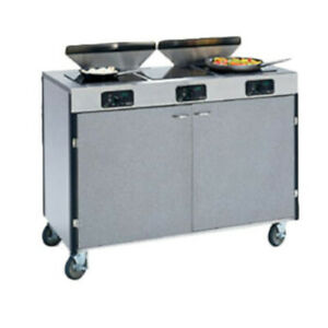 Lakeside 2085 Creation Express Station Mobile Cooking Cart