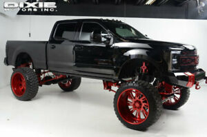 2017 Ford Super Duty F-250 SRW Lariat Ultimate Kelderman Lariat Ultimate Kelderman Fox MBRP Rigid GF11 28 inch wheels Power Stroke Kelder