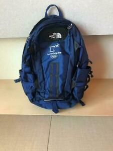 THE NORTH FACE Backpack Navy x Black Pyeongchang Olympic Model Limited