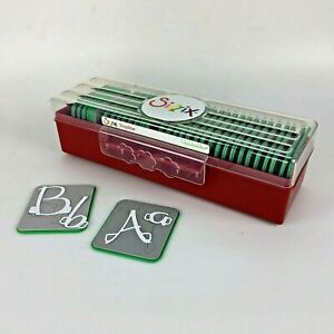 Sizzix Sizzlits Alphabuckles Alphabet 35 Die Set Craft Scrapbooking Retired $150