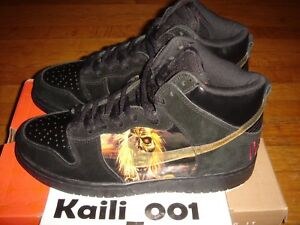 Nike Dunk High Pro SB Size 9 Iron Maiden Promo Sample Paris Pigeon London Tokyo