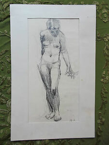 Original drawings by European artist. Size 6.5 on 10 inch. Pencil.Signed quot;ASquot; $155.00