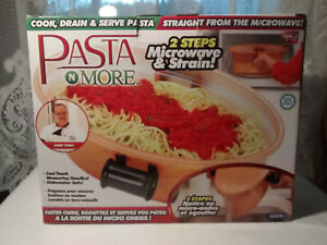 BRAND NEW Pasta N More Microwave Pasta Cooker AS SEEN ON TV 5pc Set