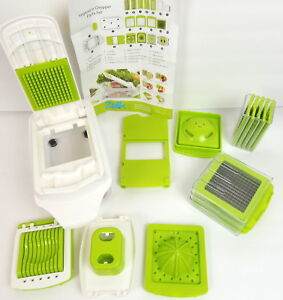 Zalik Vegetable Chopper Slicer Dicer Cutter & Grater  Interchangeable Blades