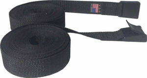 4 feet Long Lashing Strap (2 straps) Cargo Lash Strap, Camping with  Cam Buckle
