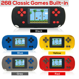 Portable 2.0'' Handheld Game Console + 268 Games TFT Screen Retro Players G7M9