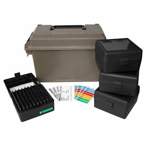 NEW ACC223 MTM 223 Ammo Can for 400 rd. Includes 4 each RS-100's Dark Earth