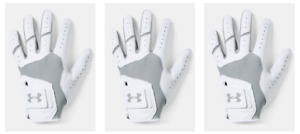 NEW 2019 THREE PACK Under Armour Iso-Chill Tour Golf Glove Pick Hand
