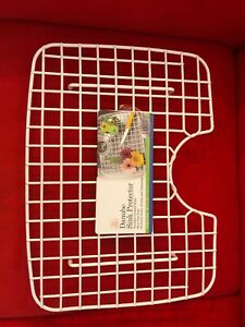 """Better Houseware Danube Sink Protector with Top Upper Drain Hole Large 18.5"""" NWT"""