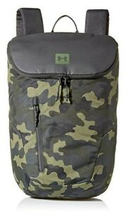 Under Armour Lifestyle Backpack, Black Artillery Green, One Size $43.97