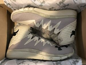 UNDER ARMOUR UA Project THE ROCK DELTA Highlight DNA New Kaki Camo Sz 12