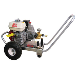 Kranzle H200 Professional 2000 PSI (Gas-Cold Water) Pressure Washer w Honda ...